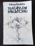 Tratament Fabulatoriu, Mircea nedelciu, Cartea Romaneasca, 1986