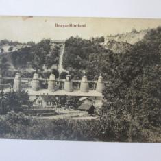 Carte postala Bocsa Montana-Exploatarea miniera,circulata 1927, Fotografie