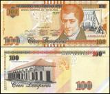 !!! HONDURAS - 100  LEMPIRAS  2014 - P 102 b  - UNC