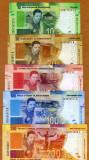 !!! AFRICA SUD - LOT 10 + 20 + 50 + 100 + 200 RAND  2018 , COMM. - P NEW  - UNC