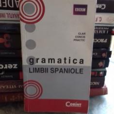 GRAMATICA LIMBII SPANIOLE - TRADUCERE DE MONICA GOT