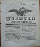 Ziarul Buletin , gazeta oficiala a Principatului Valahiei , nr. 32 , 1841