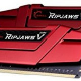 Memorie G.Skill Ripjaws V Red, DDR4, 2x4GB, 3000MHz