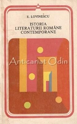 Istoria Literaturii Romane Contemporane 1900-1937 - Eugen Lovinescu