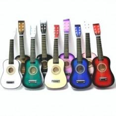 Chitara lemn copii marime mica 55 cm