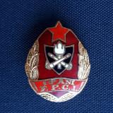 Insigna Pompier - 10 ani - F.P.C.I. - Pompieri