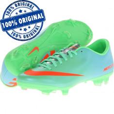 Pantofi sport Nike Mercurial Victory 4 pentru barbati - adidasi originali, 44, 44.5, Verde