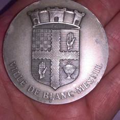 Placa, medalie argint Franta