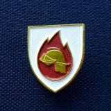 Insigna Coif pompier - Casca - tema Pompieri
