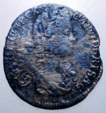 G.339 AUSTRIA BOHEMIA KARL CAROL VI 3 KREUZER 1719 ARGINT 1,2g, Europa