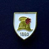 Insigna Coif pompier 1860 - Rara - Casca pompieri