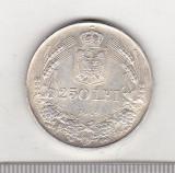 Bnk mnd sc Romania 250 lei 1941 TPT, Argint