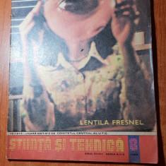 Revista stiinta si tehnica august 1982