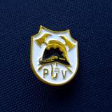 Insigna Coif pompier - Rara - Casca pompieri - p3