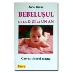 Anne Bacus Bebelusul de la o zi la un an