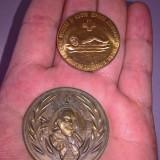 Doua medalii, placi, alama sau bronz, Europa