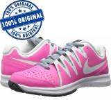Pantofi sport Nike Vapor Court pentru femei - adidasi originali - piele naturala, 36, 36.5, Roz