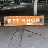 Reclama PET SHOP