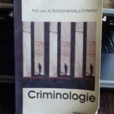 CRIMINOLOGIE - RODICA MIHAELA STANOIU