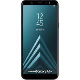 Smartphone Samsung Galaxy A6 Plus (2018) 32GB Black, Neblocat, 6''