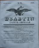 Ziarul Buletin , gazeta oficiala a Principatului Valahiei , nr. 53 , 1839