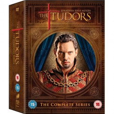Film Serial The Tudors  DVD Box Set Seasons 1-4 Complete Collection 13 Discs, Drama, Engleza, independent productions