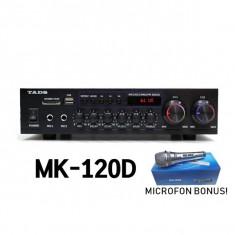 STATIE KARAOKE 160W,MIXER,MP3 PLAYER USB INCLUS,EFECTE VOCE,TELECOMANDA.SIGILATA
