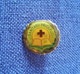 Insigna Sanitarii priceputi - R.S.R. - Pionieri - Crucea rosie - Medicina
