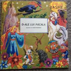 D ale lui pacala scenarizare tudor musatescu disc vinyl lp poveste pentru copii, VINIL, electrecord
