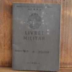 Livret militar 1958 R.P.R. ( Stagiul militar 1939-1941 ) #729