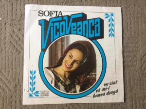 sofia vicoveanca eu cant ca mi-i lumea draga disc vinyl muzica populara folclor