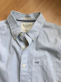 ABERCROMBIE & FITCH CAMASA MUSCLE, XL, Maneca lunga, Abercrombie&Fitch