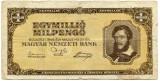 Ungaria 1000000 milio pengo 1946