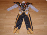 Costum carnaval serbare power rangers ninja pentru copii de 9-10 ani
