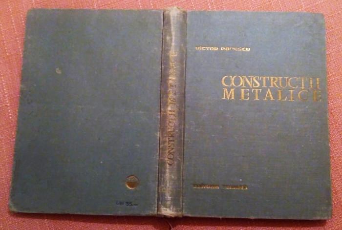 Constructii Metalice  -  Victor  Popescu