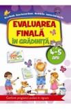 Evaluarea finala in gradinita 4-5 ani - Alice Nichita