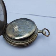 Ceas de buzunar , Mido, Swisse Made, mecanic,15 jewels,patent Remontoir