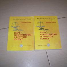 DREPT CONSTITUTIONAL SI INSTITUTII POLITICE GHEORGHE UGLEAN VOL,1,2