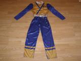 Costum carnaval serbare power rangers ninja pentru copii de 8-9 ani