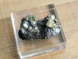 Specimen minerale - CUART, CALCOPIRITA SI BLENDA (T2)