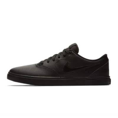 Shoes Nike SB Check Solarsoft Black/Black/Black foto