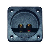 Conector boxe 2 pini, montare pe panou - 402436