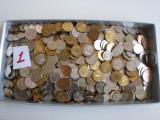 Lot  monede Rusia 3,300  kg  peste  1400  buc.