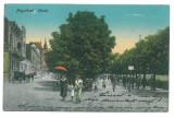 1821 - ORADEA, Romania - old postcard - used - 1915
