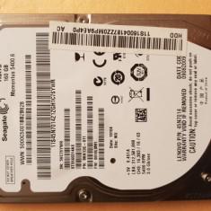 """HDD-19.HDD Laptop 2.5"""" SATA 160 GB Seagate 5400 RPM 8 MB"""