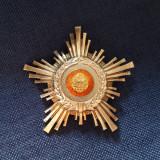 Steaua Romaniei - argint marcat - cls. a V a - varianta rara