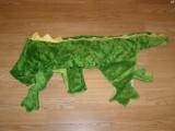 Costum carnaval serbare animal crocodil pentru catei