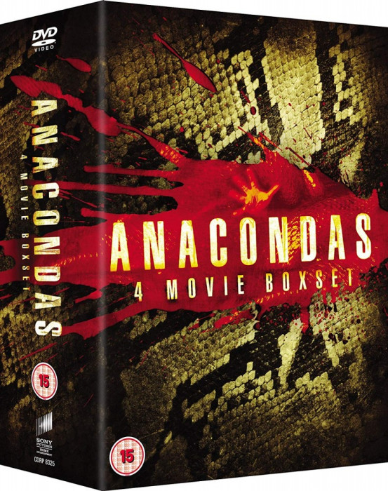 Filme Anaconda 1-4 DVD Box Set Complete Collection
