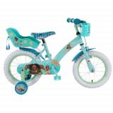 Bicicleta cu Roti Ajutatoare Vaiana-Moana, 14 inch