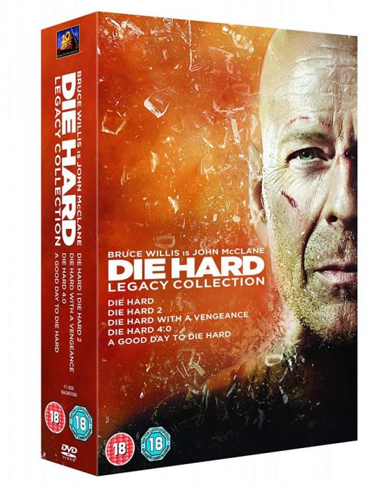 Filme Die Hard 1-5 DVD Complete Collection